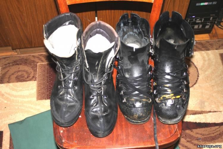 Ботинки горные и краги для военных армии Швейцарии